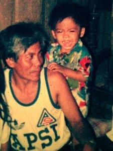 Larawan noong ako ay mga dalawang taong gulang pa lamang.