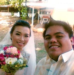 Selfie kasama ang bride