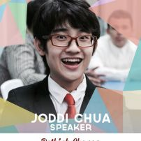 "Joddi Chua is a H4 student in Xavier School. He is currently a class president and a student leader. He has been a class officer since his Freshman year; being the treasurer during his 1st and 2nd years, and the class president from H3 up to this day. He has an interest in many different things, such as ""Peanuts"" and paper folding, both of which highlight his passion for art. (Text from TEDxXavierSchool page)"