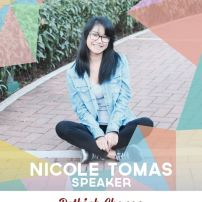 Nicole Tomas is a Political Science student at the University of the Philippines. She is also a member of the UP Debate Society, and has earned numerous accolades in various local and international debate tournaments. Nicole values both freedom of speech and expression, which has only deepened her love for debate. She enjoys writing poetry and science, having won awards in the past for the latter. (Text from TEDxXavierSchool page)